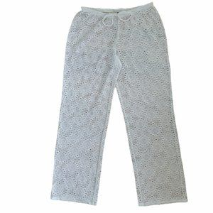 Laundry White Lace Beach Pants
